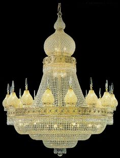 Crystal Chandelier in the Winterpalace. Elegant Chandeliers, Luxury Chandelier, Iron Chandeliers, Luxury Lighting, Vintage Chandelier, Glass Chandelier, Chandelier Lighting, Dramatic Lighting, Cool Lighting