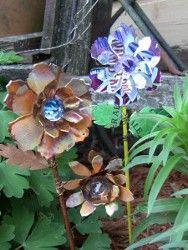 DIY Flower Plant Stakes.