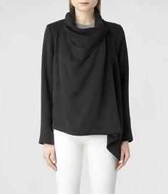 Womens Bayle Monument Jacket (Black) | ALLSAINTS.com