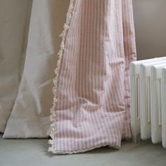 The Fan edge (Ivory) you can see being used here really gives the curtain extra weight and look to complete them