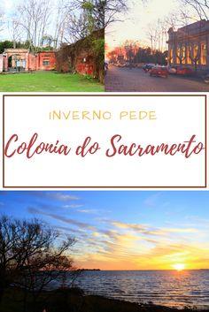 Que tal um lindo pôr de sol invernal em Colônia do Sacramento no Uruguai?