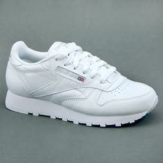 Reebok WOMAN CLASSIC LEATHER Bianco mod. CL-WHITE in Vêtements, accessoires, Hommes: chaussures, Baskets | eBay