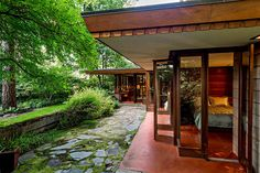 Frank Lloyd Wright's Ray Brandes house (1952), Sammamish, Washington