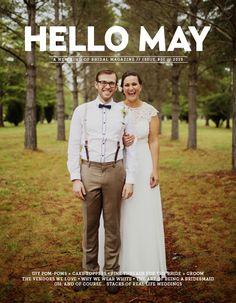 Hello May Magazine print issue