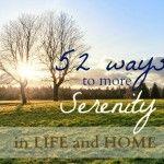 52 Ways for More Serenity » Get some sleep (week #5)