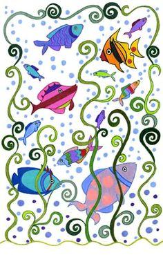fish in art - Google Search