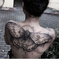 Butterfly back tattoo - 100  Amazing Butterfly Tattoo Designs  <3 <3