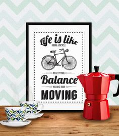 Printable poster inspirational quote by ByWilmaPrintables on Etsy, $5.00