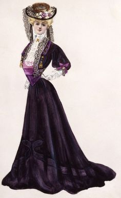 Lucile dress and bolero, 1905, by way of yeoldefashion. It's such a pretty outfit but oh my god how does your body work.