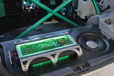 amp cooler for car speaker set up | nice one!and that custom made plexiglass on top of that amp makes it ...