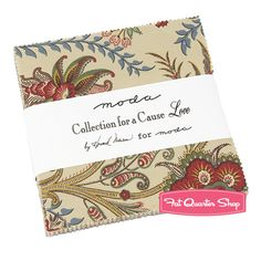 Love Collections for a Cause Charm Pack Howard Marcus Dunn for Moda Fabrics