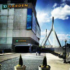 """Td garden #Boston"""