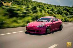 Sexy in Pink Hyundai Tiburon v6