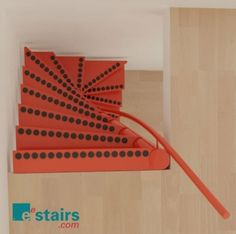 """""""EeStairs have developed the 1m2 ® staircase; a functional, stylish and safe solution designed to fit into openings of just 1m x 1m. EeStairs hold the patent to this unique space saving staircase and there is a license available to our business partners."""""""