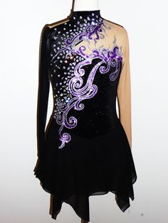 COMPETITION ICE SKATING DRESS. I can deffonetly picture Ali wearing this