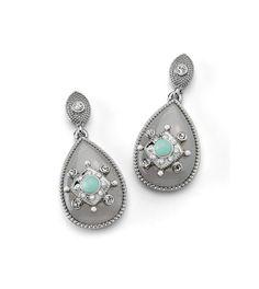 Antiquarian Earrings - lia sophia pinterest.com