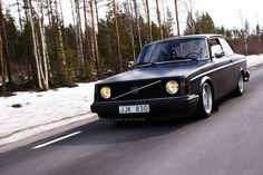I miss my old volvo. Matte black would have been rad.
