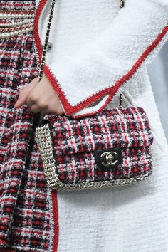 Spring 2020 Bag and Purse Trends - Best Bags for Spring 2020 Chanel No 5, Chanel Paris, Tweed, New York To Paris, Spring Bags, Chanel Spring, Best Bags, Leather Pouch, Leather Bags