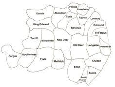 Map of Buchan Parishes