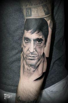 tatuaggeria#tattoo #tattoos #tat #ink #inked #tatuaggeria #TFLers #tattooed #tattoist #coverup #art #design #instaart #instagood #sleevetattoo #alpacino #scareface #photooftheday #tatted #instatattoo #bodyart #tatts #tats #amazingink #tattedup #inkedup