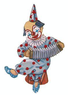 Clown au bandonéon...