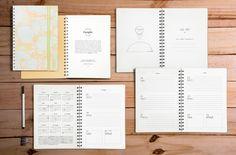 Diseño interior - Agendas Crespín 2017