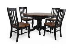 Only $590 and they had matching stools Winners Only Quails Run Dining Set | Mathis Brothers Furniture