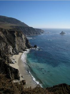 the Big Sur coastline in Big Sur, California #virtualtourist