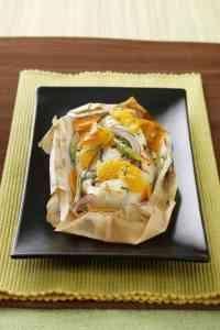 Sunkist Tangerine Snapper in Parchment Paper Recipe