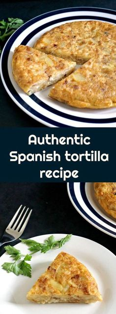 This Authentic Spanish tortilla recipe, the very famous Tortilla española is the most delicious potato omelette, and one of many amazing tapas that the Spanish cuisine is well known for. Spanish Paella Recipe, Spanish Tortilla Recipe, Spanish Cuisine, Spanish Dishes, Tortillas, Food Network, Spanish Potatoes, Spanish Omelette, International Recipes