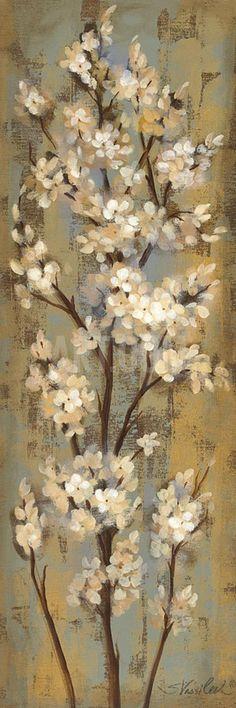 Almond Branch II Art Print by Silvia Vassileva at Art.com