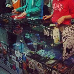 Scratch session in BC24 Krakow  #scratch #turntablism #scratchnerds #vinyl #scratching #realdjing #hiphop by lilxjam http://ift.tt/1HNGVsC