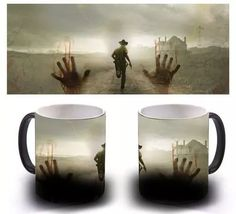taza magica the walking dead Unique Gifts For Couples, Couple Gifts, Walking Dead Art, Silhouette, Tea Pots, Geek Stuff, Prints, Projects, Anime