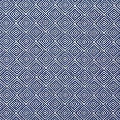 Pindler Indoor/Outdoor Fabric Pattern #4711-Tangalla Color Indigo www.pindler.com (Newport Mansions - Doris Duke Indoor/Outdoor Collection)