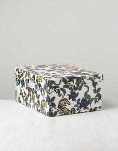 DJUNGLE BOX L förvaringslåda vit