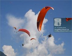 India Will Be Hosting The Paragliding World Cup For First Time >> The fact that the Paragliding World Cup 2015 will be organized in the state of Himachal Pradesh in India is therefore a matter of great joy and event of countless gliding enthusiasts across the country.  >>> #Paragliding #BirBilling #HimachalPradesh #365Hops #India