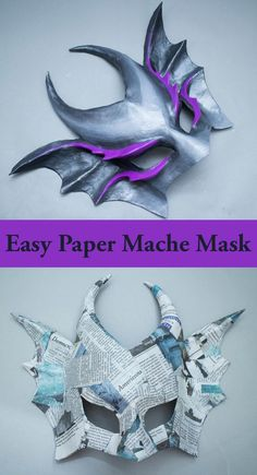Using paper mache to create custom masks is an age old tradition, and there are a lot of ways to do it. Learn how to use wire mesh and paper strips to create a base that is perfectly fitted to your face. This is a really simple technique that produces some pretty great results.