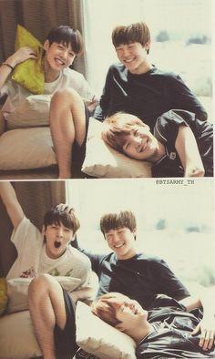 Jungkook 정국, Jimin 지민, and Suga 슈가 from Bangtan Boys 방탄소년단 '14