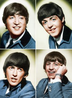 The Beatles - John Lennon, Paul McCartney, George Harrison, Ringo Starr Beatles Love, Les Beatles, Beatles Photos, Beatles Party, Beatles Albums, Beatles Band, Rock And Roll, Pop Rock, Paul Mccartney