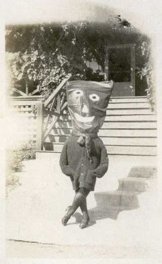 Halloween was just creepier back in the day.
