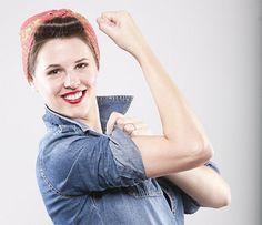 Rosie the Riveter! (for Next Halloween) Last Minute DIY Adult Halloween Costumes | Friday Favorite 5
