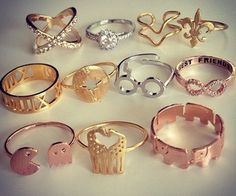 Rings ✿