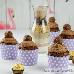 Ferrero Rocher, Rocher Torte, Muffins, Food And Drink, Pudding, Sweets, Breakfast, Desserts, Gifts