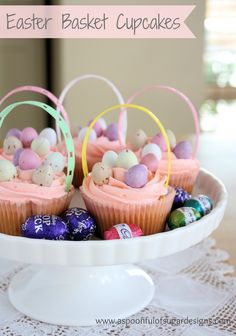 Easter Cupcakes | A Spoonful of Sugar