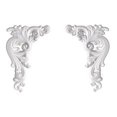 Focal Point 99400 Seraphine Accent (Pair) 9 1/8-Inch by 6 1/8-Inch by 3/4-Inch, Primed White, 2-Pack * Trust me, this is great! Click the image. : home diy improvement