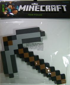 Steve From Minecraft With Sword | New MINECRAFT Foam Pickaxe Pick Axe & Sword Combo Set Steve Iron Kill ...