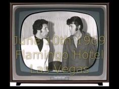 Elvis Presley & Tom Jones Backstage & Live On Stage I'll Never Fall In Love Again - YouTube