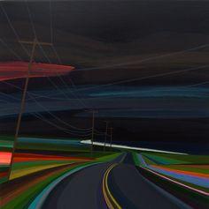 Nighttime on Old Montauk Highway  Grant Haffner (2016)