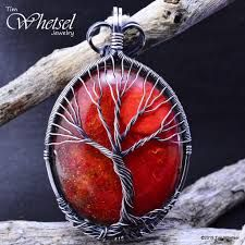 Image result for tree of life with moon wire jewelry tutorial