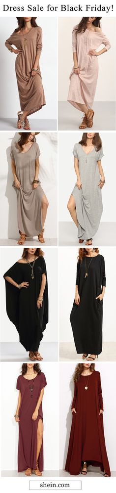 Maxi dresses for sale. Free shipping & 40% off at shein.com.